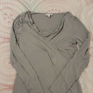 Cabi long sleeve top size L